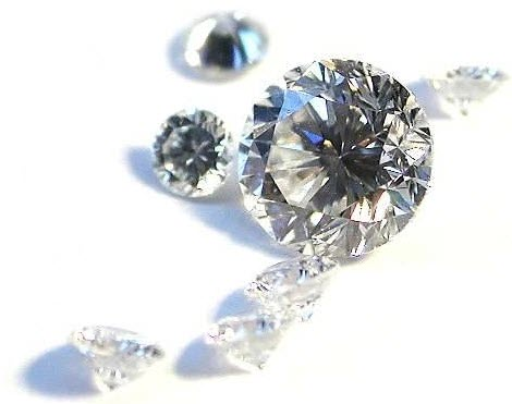 Different Sized Diamonds